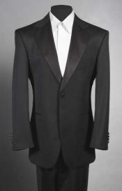 MensSKU#LL2 Black Tuxedo 1