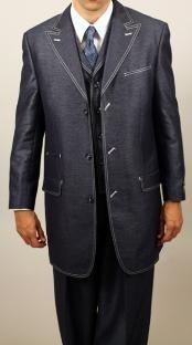 Denim Look 3PC Fashion