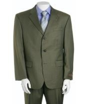 Olive Green 3 Buttons
