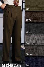 Double-Pleated Slaks / Dress