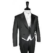150's Black Peak Tailcoat