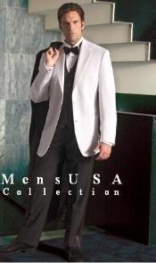 White Tuxedo jakcet &