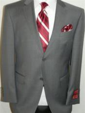 Mantoni Brand Gray Suit