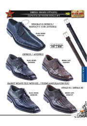 Lizard/Eel Mens Dressy Shoe