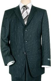 Navy Blue Pinstripe 3