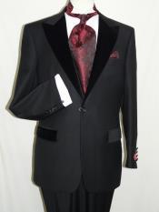 Black Wool Formal Tuxedo