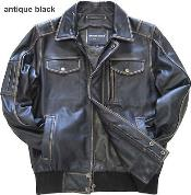 Leather Bomber Jacket Cowhide