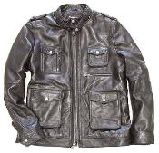 Military Field Inspired Lambskin