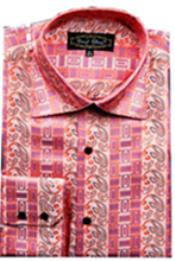 Fancy Shirts CORAL (100%