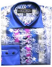 Fancy Shirts Blue/White (100%