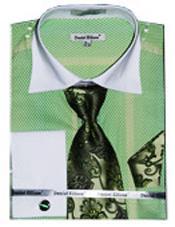 Fancy Shirts lime mint
