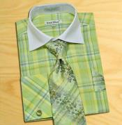 mint Green / White
