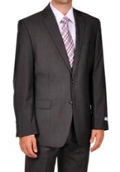 Klein Grey Herringbone Tweed