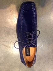 Dress Shoes Navy Blue