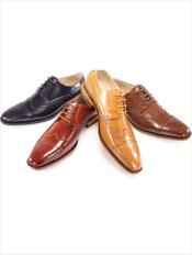 Dress Shoes NavyChocolate BrownTanBlack