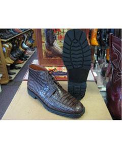 All Crocodile Caiman Brown