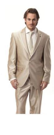 1 button Almond Tuxedo