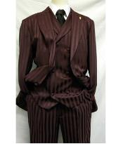 Falcone Burgundy Shiny Stripe