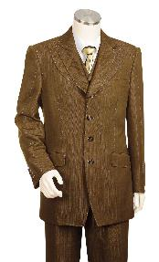 3 Piece Vested Brown