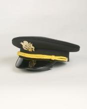 Black Cadet Hat