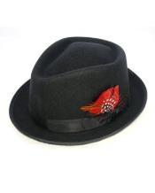 Black Detroit Hat