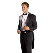 Black Tailcoat with Matching