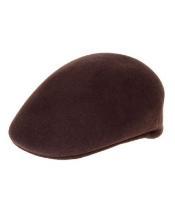 Brown English Cap