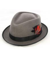 Gray Detroit Hat