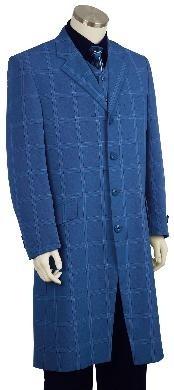 Stylish Zoot Suit Royal