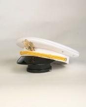 White Cadet Hat