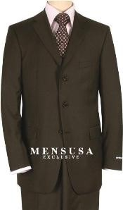 Brown Quality Suit Separates
