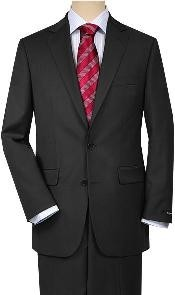 Charcoal Gray Quality Suit
