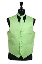 Tie Set Mint Green