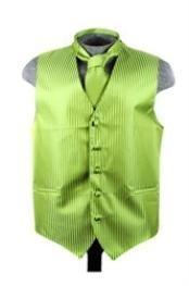 Tie Set Spinach Green
