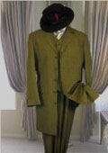 Olive Zoot suits