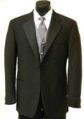 Button Tuxedo Satin Covered