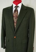 Green man suits