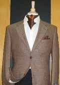 Button Wool Brown Sport