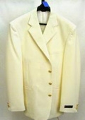 Button Off White~Ivory Mens