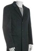 3-button overcoat