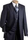 Mens Vested Suit