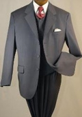 Buttons high Vested 3PC Suit