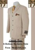Button Cream/Tan~Beige~Sand suit $139