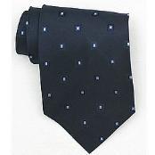 Bavy/Ltblue Woven Necktie $39