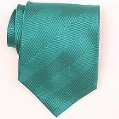 Silk Green Woven Necktie