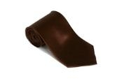 Brown 100% Silk Solid