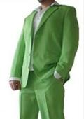 Mens lime mint Green