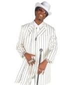 Black Pinstripe Gangster Zoot Suit