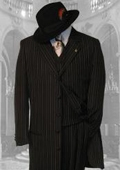 3PC Pinstripe Fashion Zoot