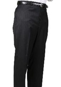 Stripe Somerset Pleated Trouser